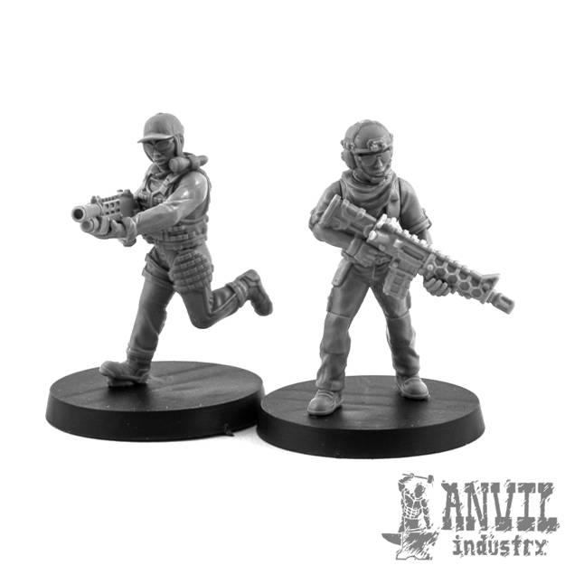 Picture of Regiments Female Custom Combat Squad (5)