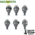 Picture of PASGT Heads With Gasmasks (6)