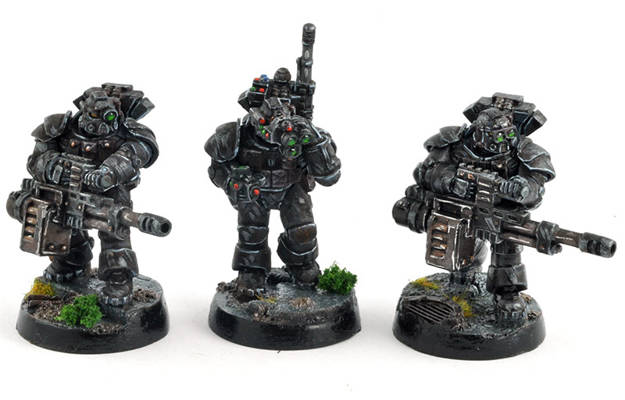 Picture of BLACK OPS Suppression Team - Autocannons - LAST FEW!