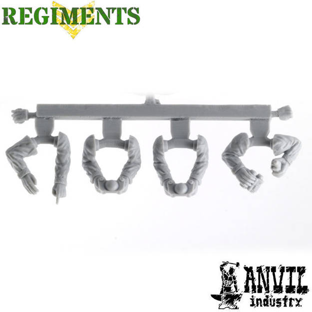 Picture of Male Fatigue Arms - Heavy Weapon (4)