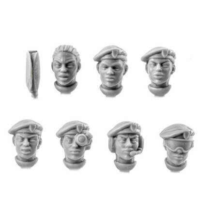 Picture of Female Beret Veteran Heads (7)