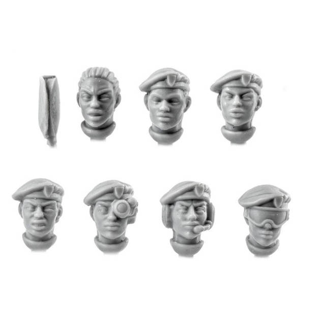 Picture of Female Beret Veteran Heads (7)