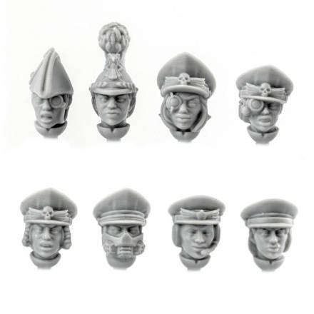 Picture of Female Officer Heads (8)