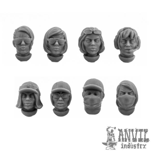 Picture of Female PMC Heads (8)