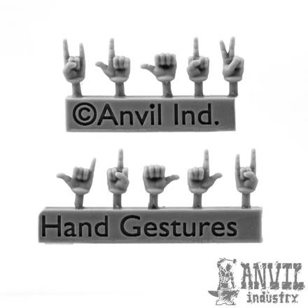 Picture of Hand Gestures Conversion Set (10)