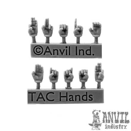 Picture of Tactical Hand Gestures Conversion Set (10)