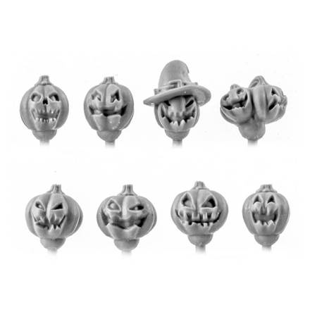 Picture of Pumpkin Heads - Regiments Scale (8)