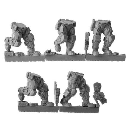 Picture of Republic Grenadier Legs 2 - Advancing (5 pairs)