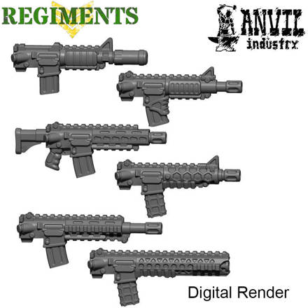 Picture of AR-15 Variants (6 + mags)