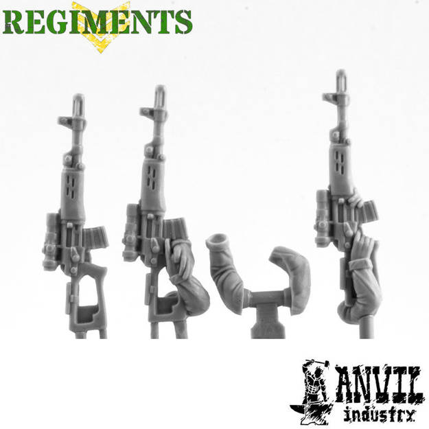 Picture of Dragunov Rifles with Male Arms (2)