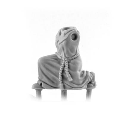 Picture of Female Robed Cultist Body - Kneeling (1)
