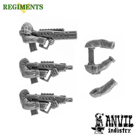 Picture of Tavor Rifles with Arms (3)
