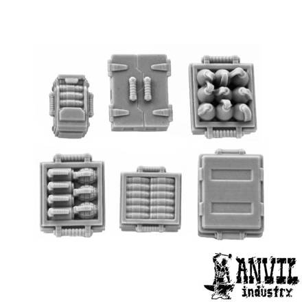 Picture of Metal Explosive & Ammo Boxes (6)