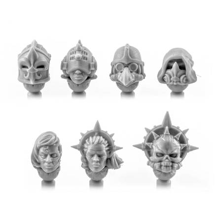 Picture of Female Gothic Veteran Heads (7)