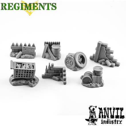 Picture of City Rubble Scatter Terrain Set (7)