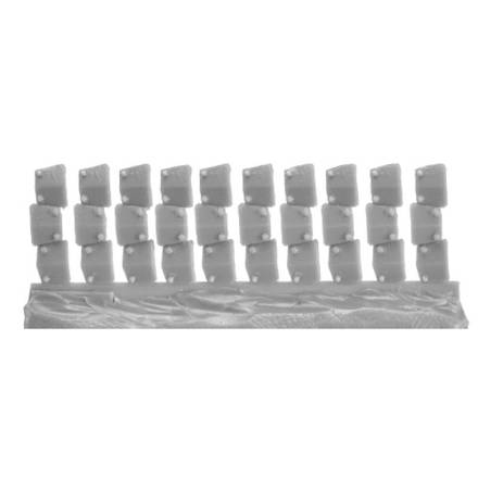 Picture of Armour Plates for Wargame Miniatures (10)