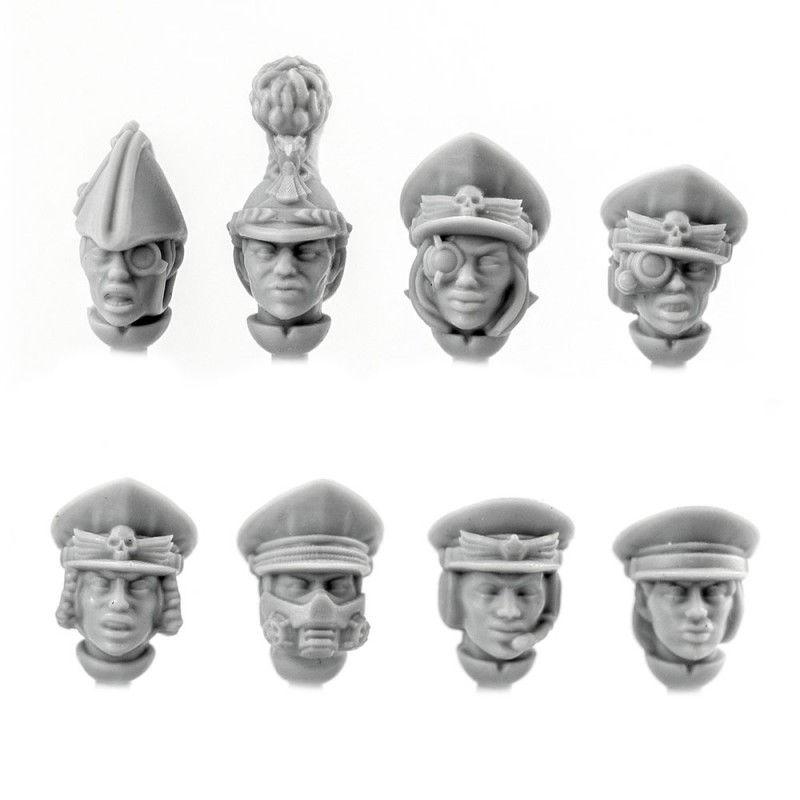 Officer Heads (female) [+$0.69]