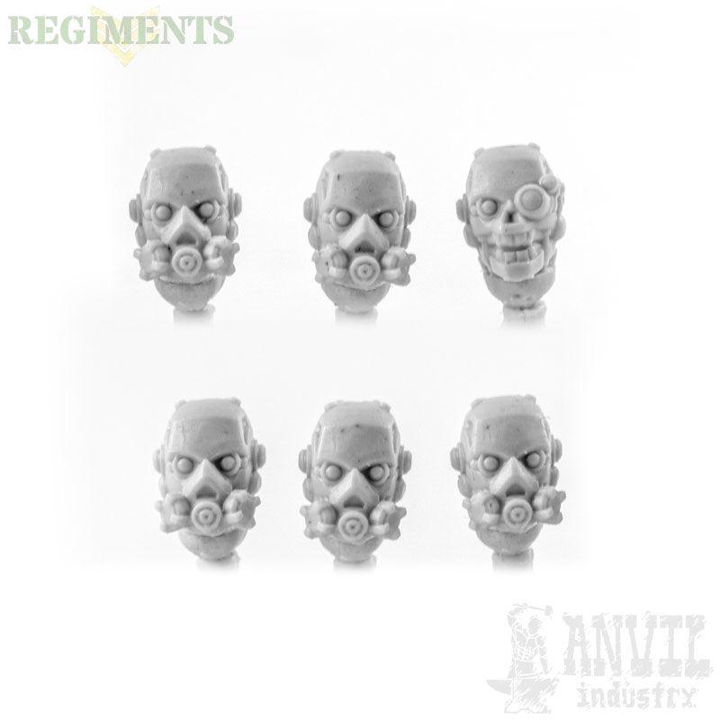 Bionic Respirator Heads