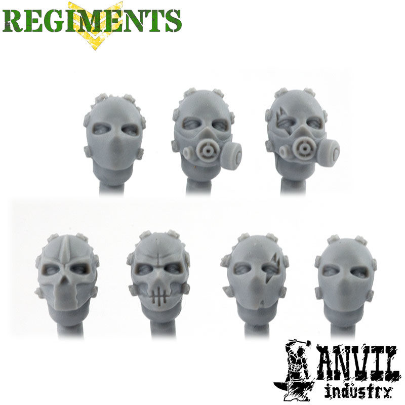 Bullet mask Heads
