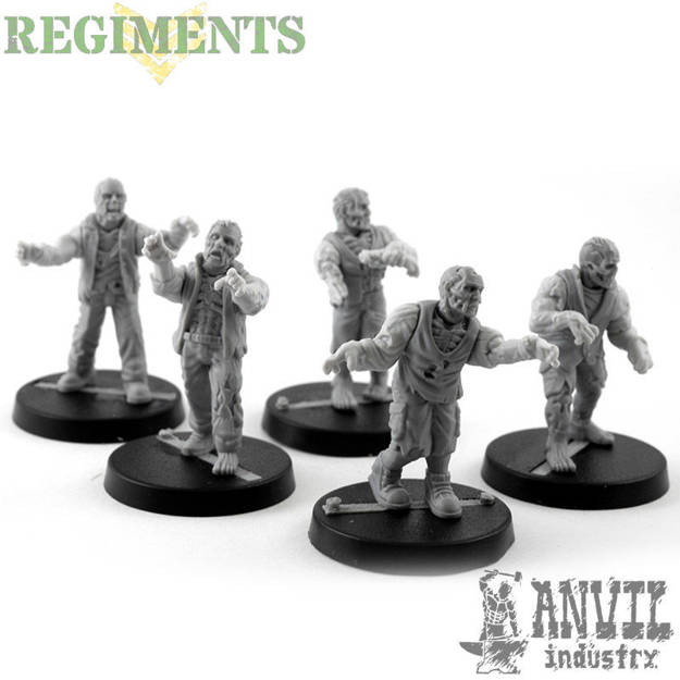 Picture of Zombies - Male Civilian (5)