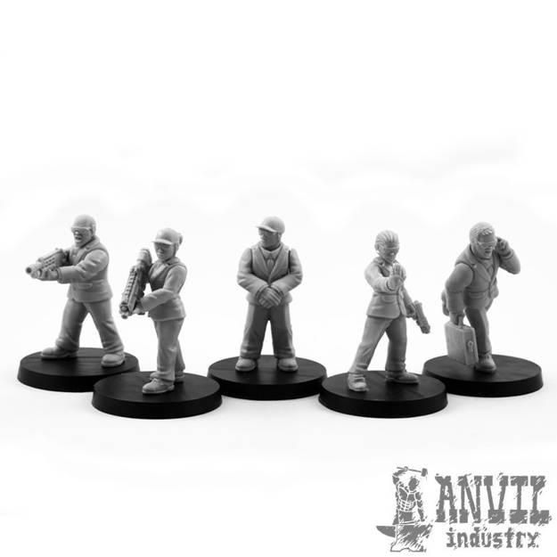 Picture of Secret Service Team (5)