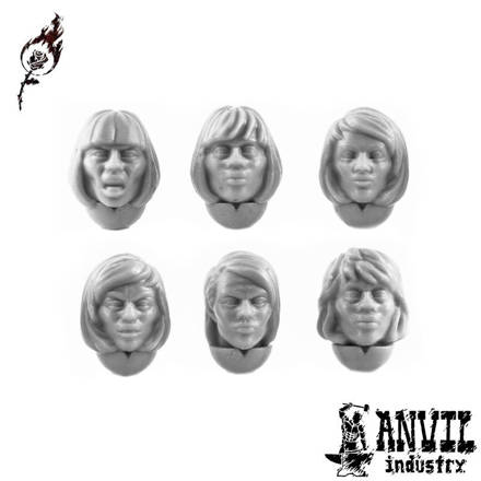 Picture of Female Bob Haircut Heads (6)