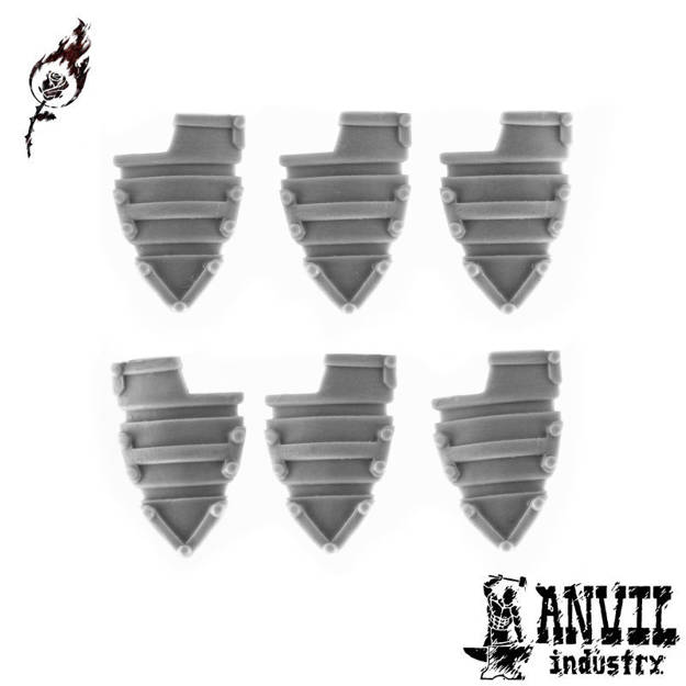 Picture of Sci-Fi Banded Shields (6)