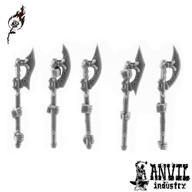 Picture of Polearms - Bardiche Axes (5)