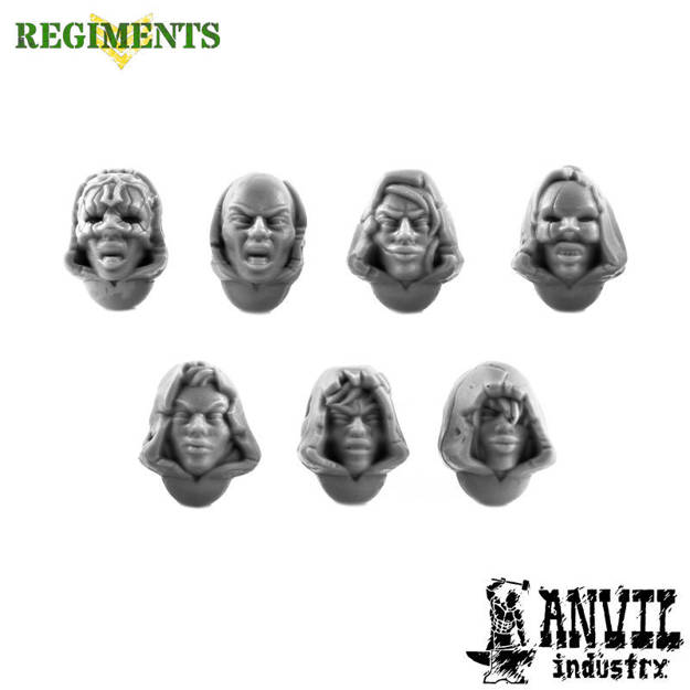 Picture of Female Cultist Heads (7)