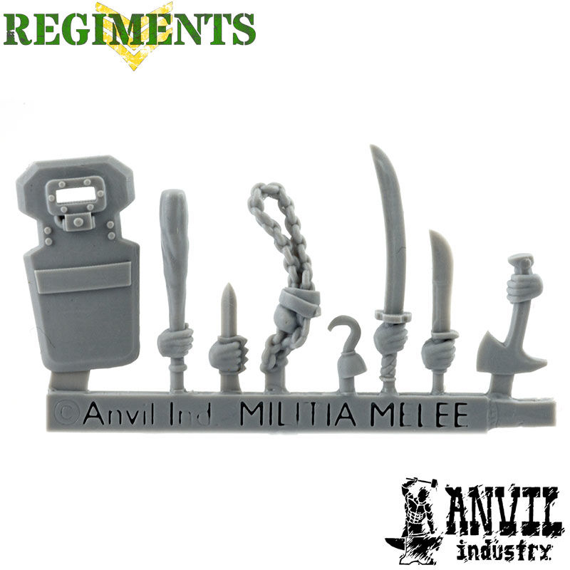 Militia Melee Weapons