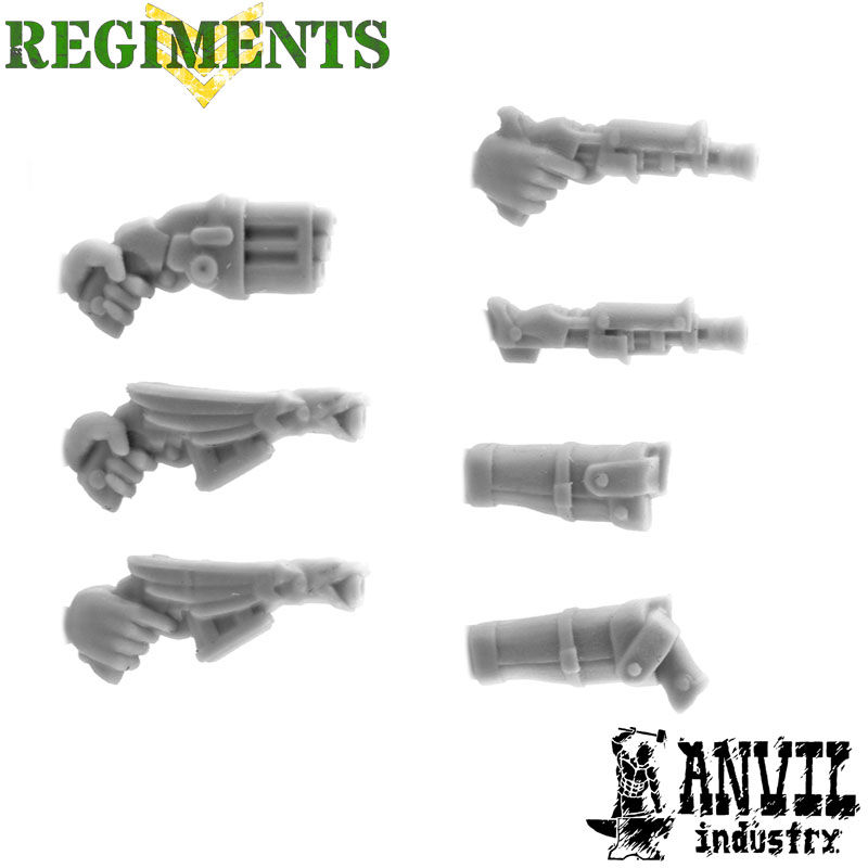Ornate Handguns