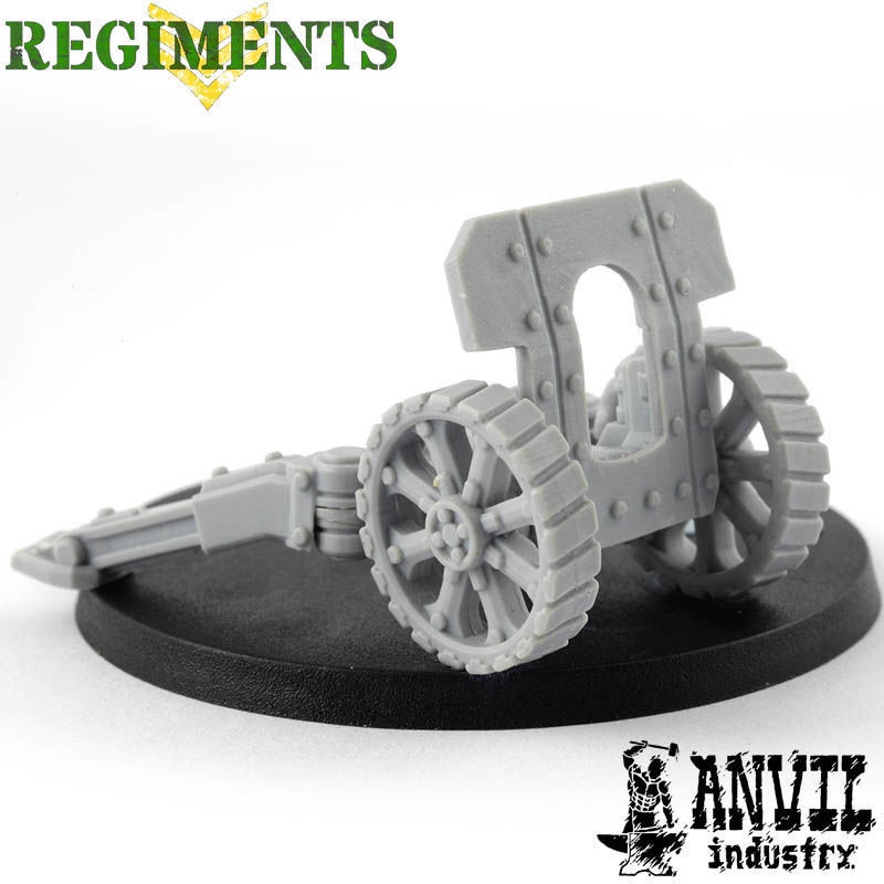 Field Gun Platform & Heavy Gunshield [+$4.17]