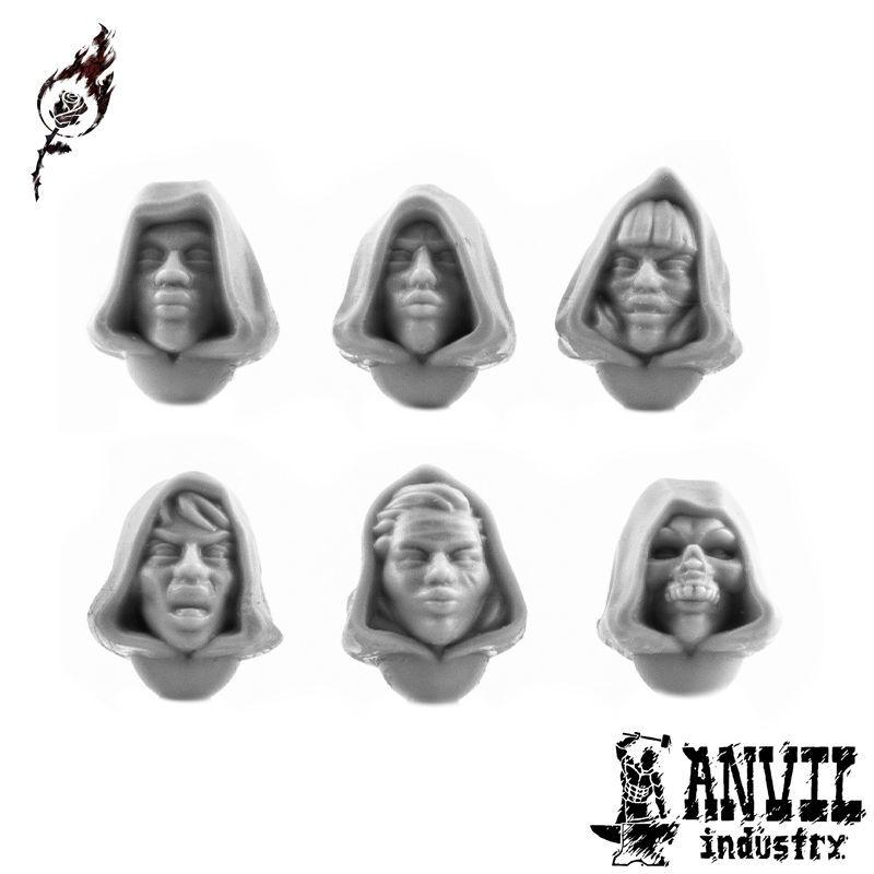 Female Hooded Heads