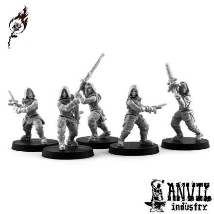 Picture of Burning Rose Melee/Assault Squad (5 figures)