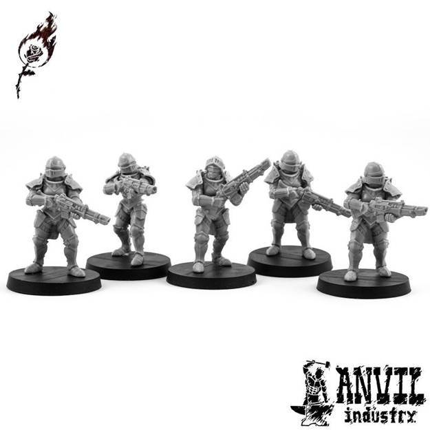 Picture of Burning Rose Rifle Squad (5 figures)