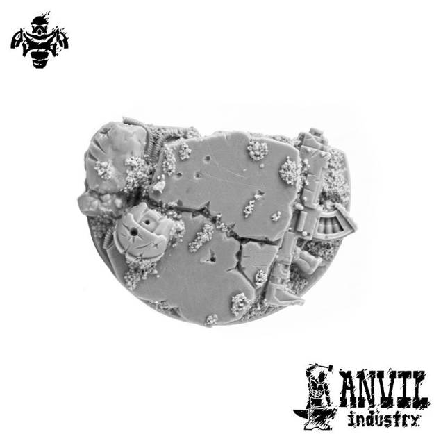 Picture of Broken Concrete - 40mm Character Base Topper (1)
