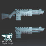 Render showing the Forge-Pattern Phase Rifle