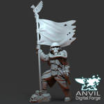 Picture of Digital - Armoured Trencher Banner Bearer