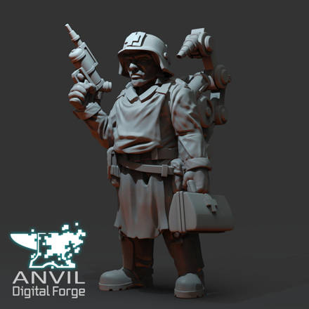 Picture of Digital - Armoured Trencher Medic
