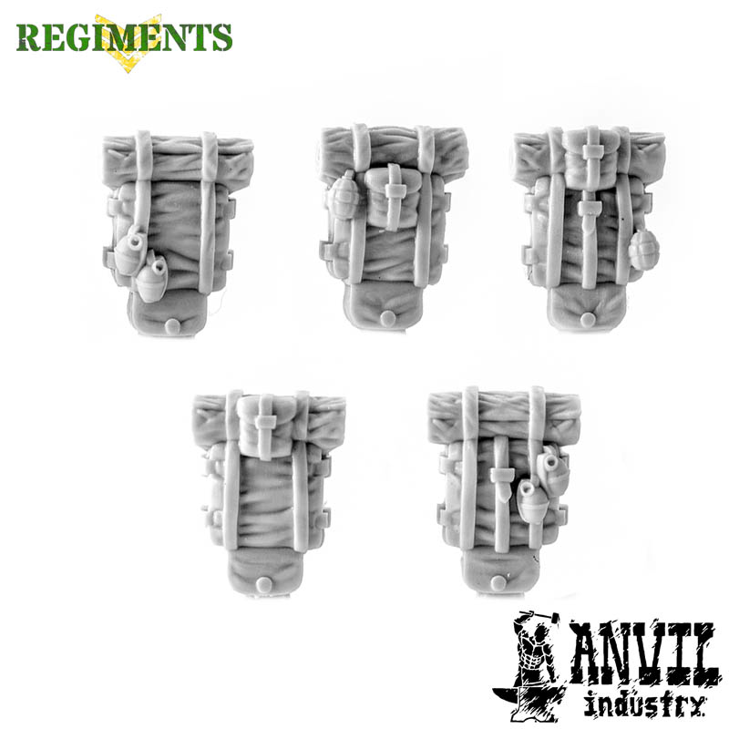 Haversacks with Grenades (5) [+$3.18]