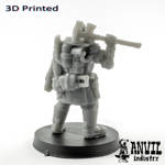Picture of 3D Print (SLA) - Armoured Trencher Engineer