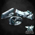 Picture of Digital - Sci-Fi Crates & Crashed Aircraft Scatter Terrain