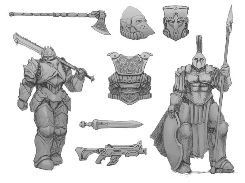 Exo-Lords: Concept Art and Design