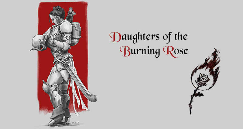 Daughters of the Burning Rose : First Concept Art