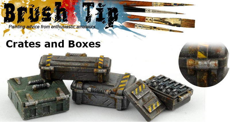 Brush Tip : Crates and Boxes