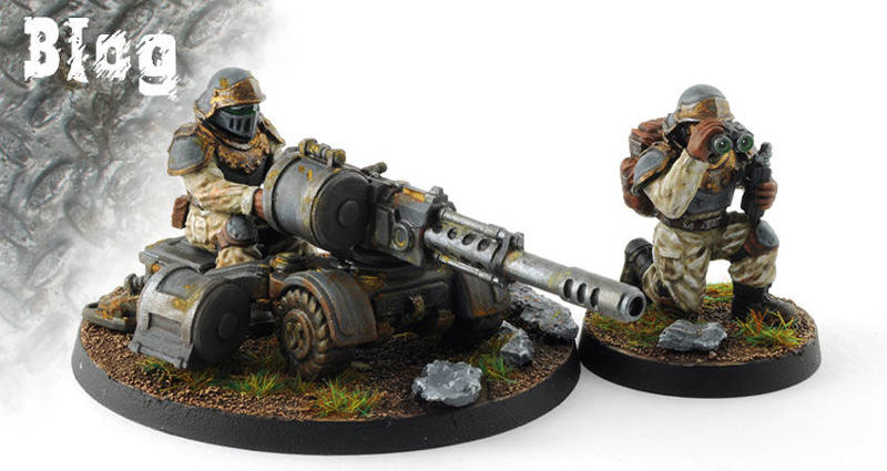 Regiments Heavy Weapon Squads