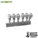 Picture of Small Holographic Sights (6) - Regiments Scale
