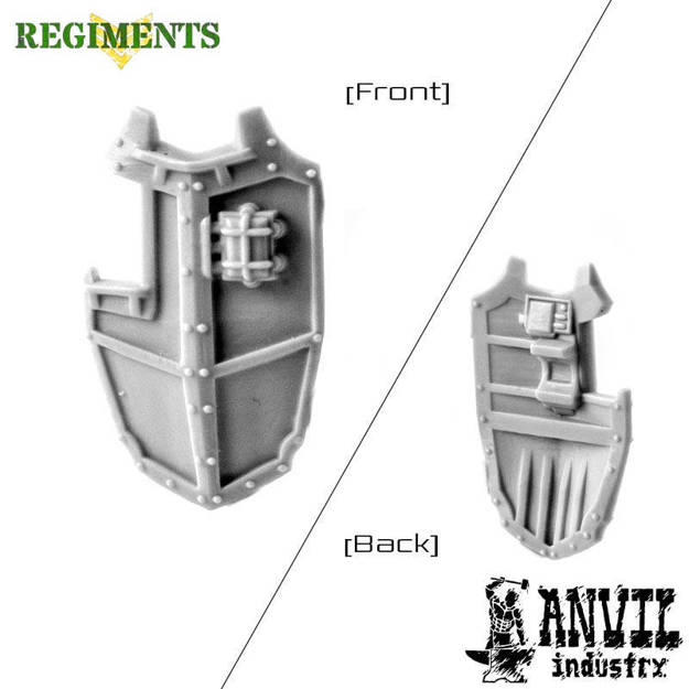 Picture of Gothic Void - Large Boarding Shield (1)