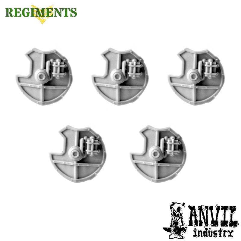 5 Small Round Shields [+€3.02]