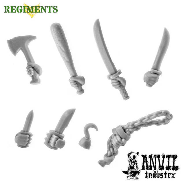 Picture of Militia Melee Weapons (8)